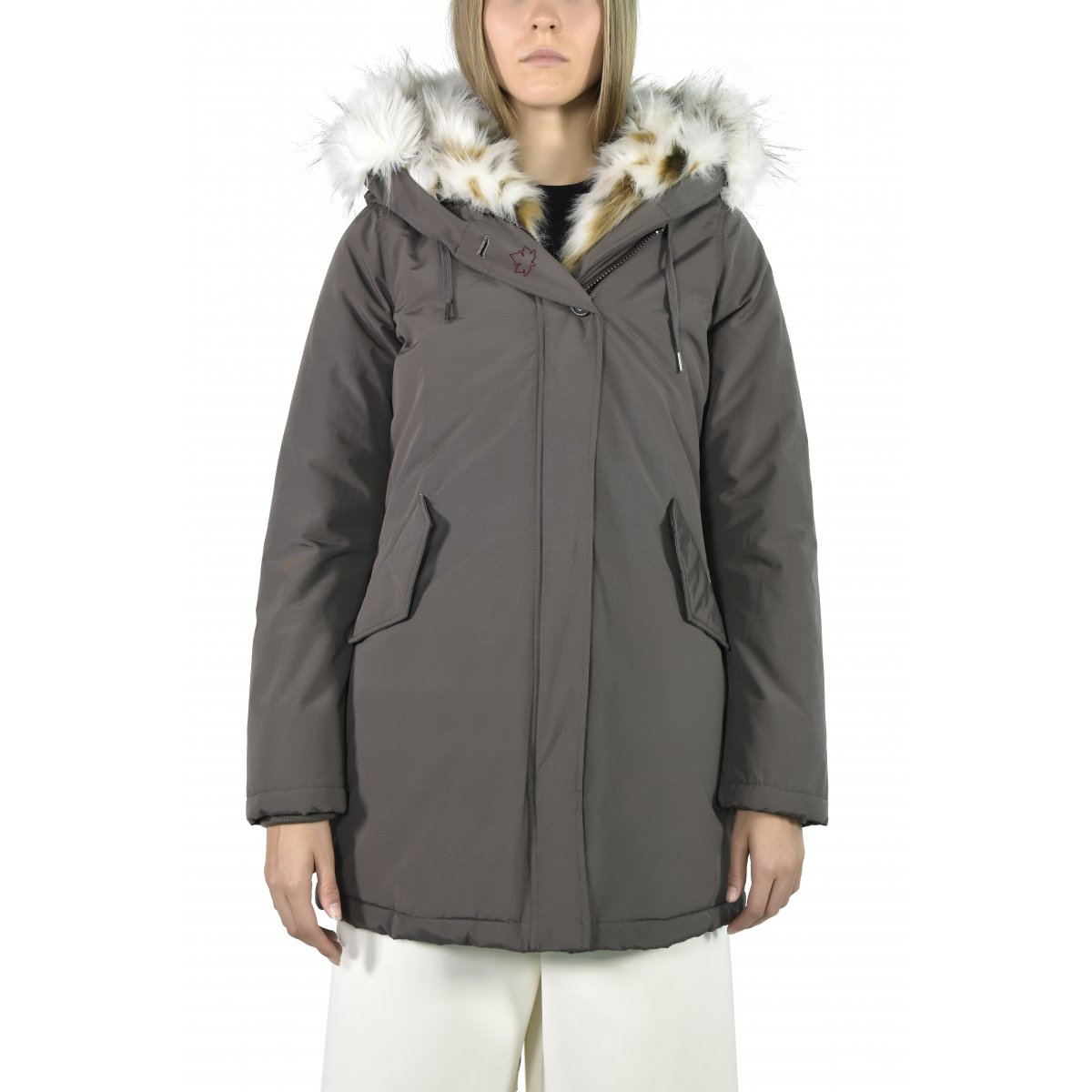timeless design a1bb6 3b27c Canadian Giacca Donna Sonora New Ecopelliccia CN.G217031WFF ...