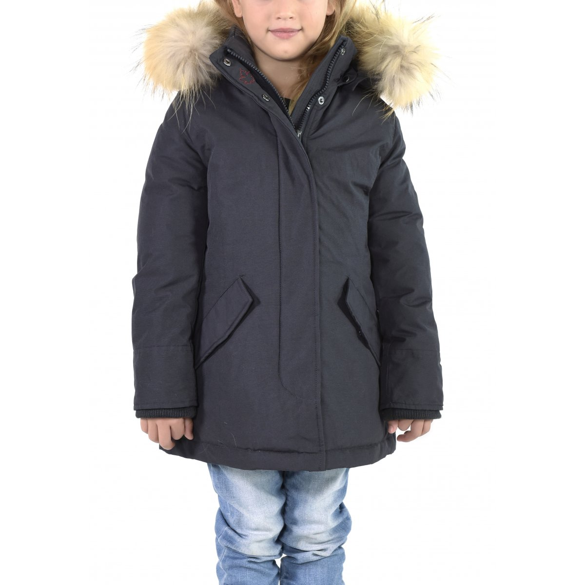 super popular 7fa83 a78e6 Canadian Giacca Kid Fundy Bay Ecopelliccia CN.GCM01W K FF ...
