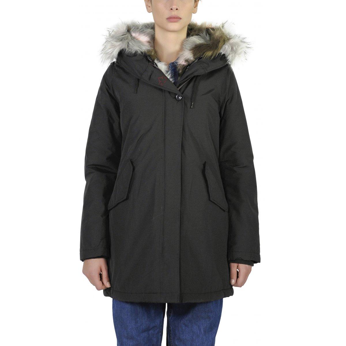 the best attitude 61bd2 42cca Giacca Donna Sonora New Ecopelliccia - Eskimo & Parka ...