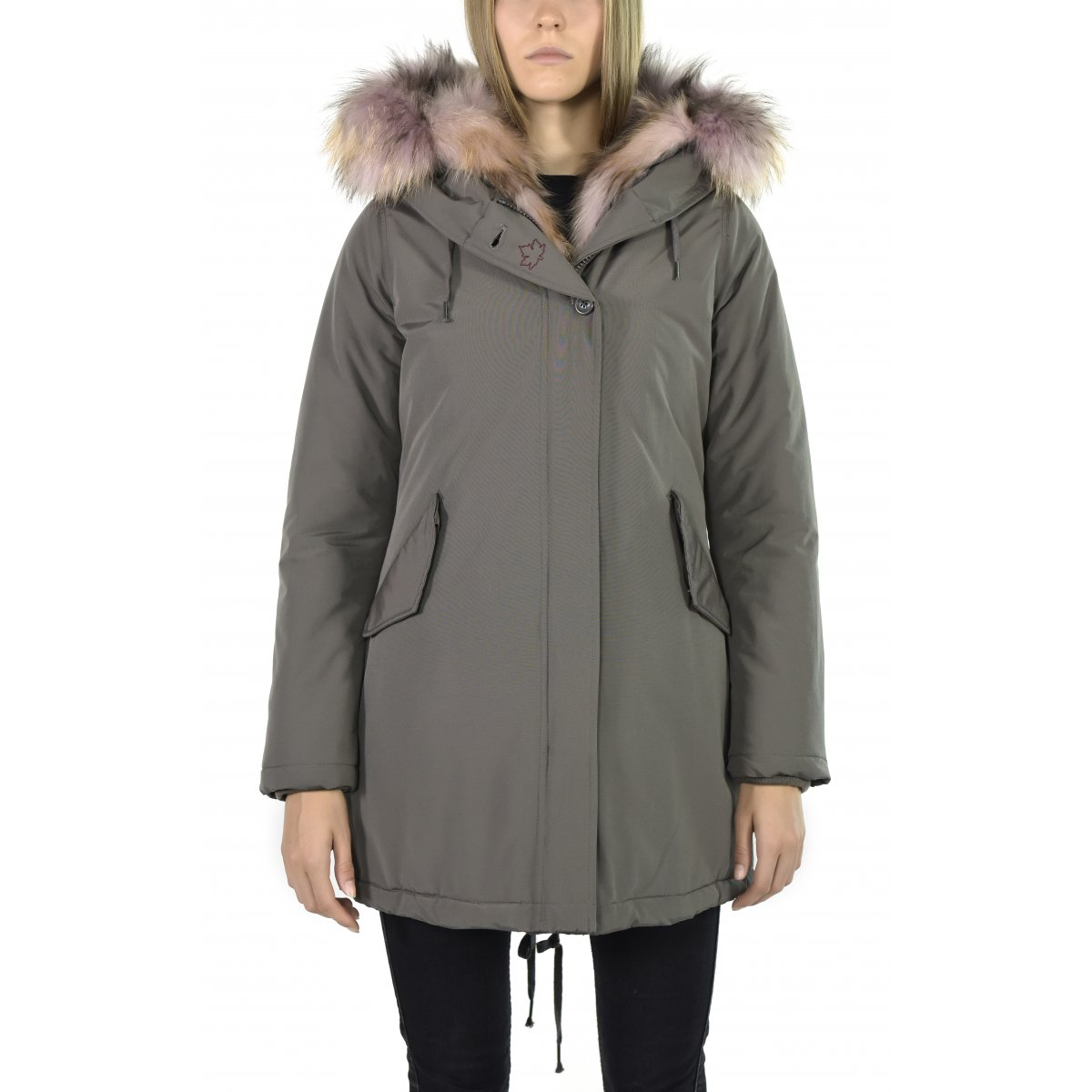 Women jacket sonora new real fur