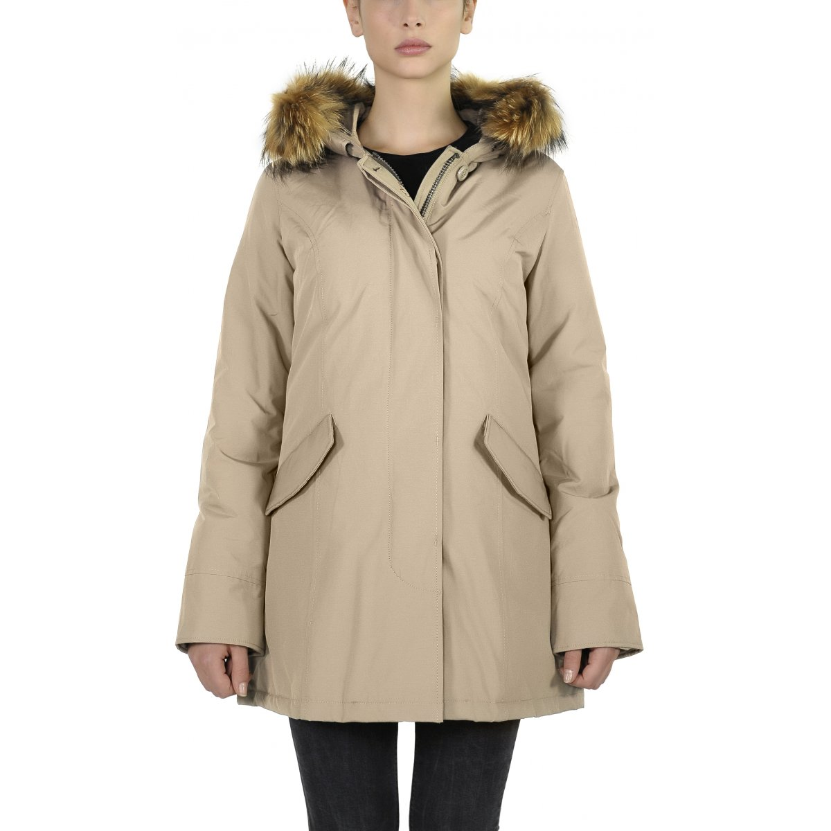 9f28f246cb Fundy Women Giacca Donna Canadian Classic Bay Parkas redoCxBW