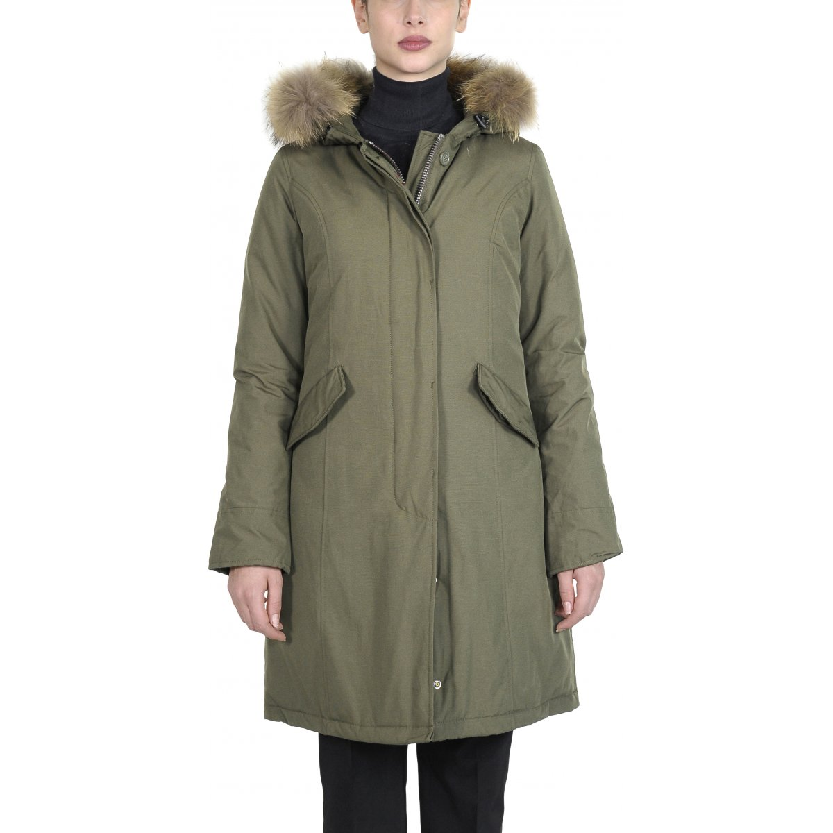 low priced fe3c5 10c59 Giacca Donna Fundy Bay Long - Classic Parkas Canadian Women