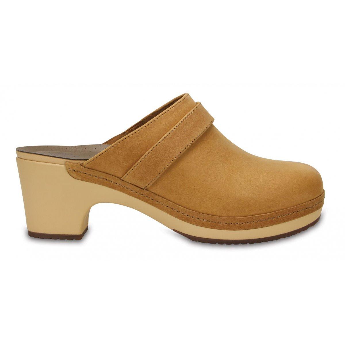 Sarah Clog Footwear Leather Donna Crocs W Ai Collezione OkiTXZPu