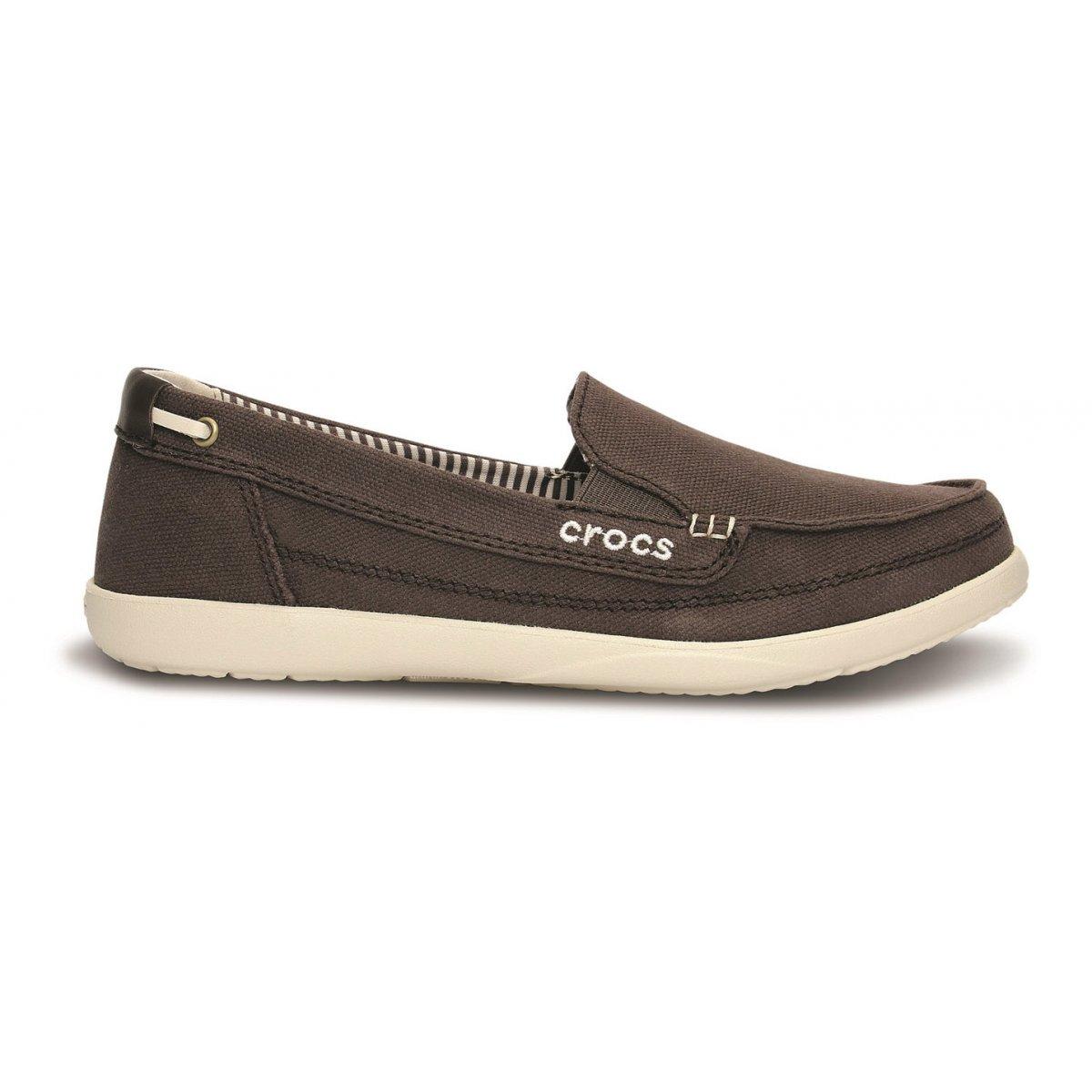 Mocassini W Sneakers Loafer Crocs E Donna Footwear Canvas Walu XRqgAA