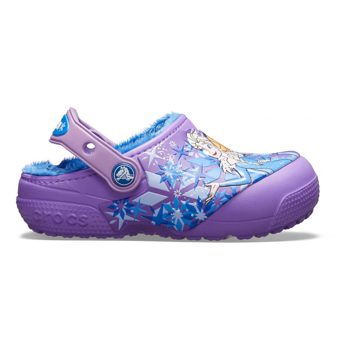 e15413db1abe Kids  Crocs Fun Lab Lined Frozen Clog - Collezione Invernale Footwear  Bambina