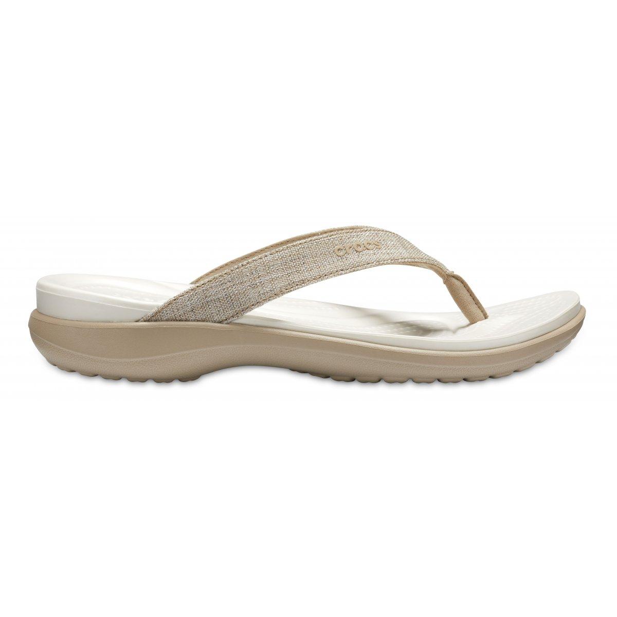 Crocs Capri V Shimmer FLIP WOMENS Infradito Nuove