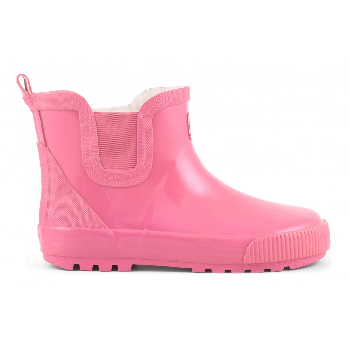 Rubber low boot with fur lining Kid Colors of California