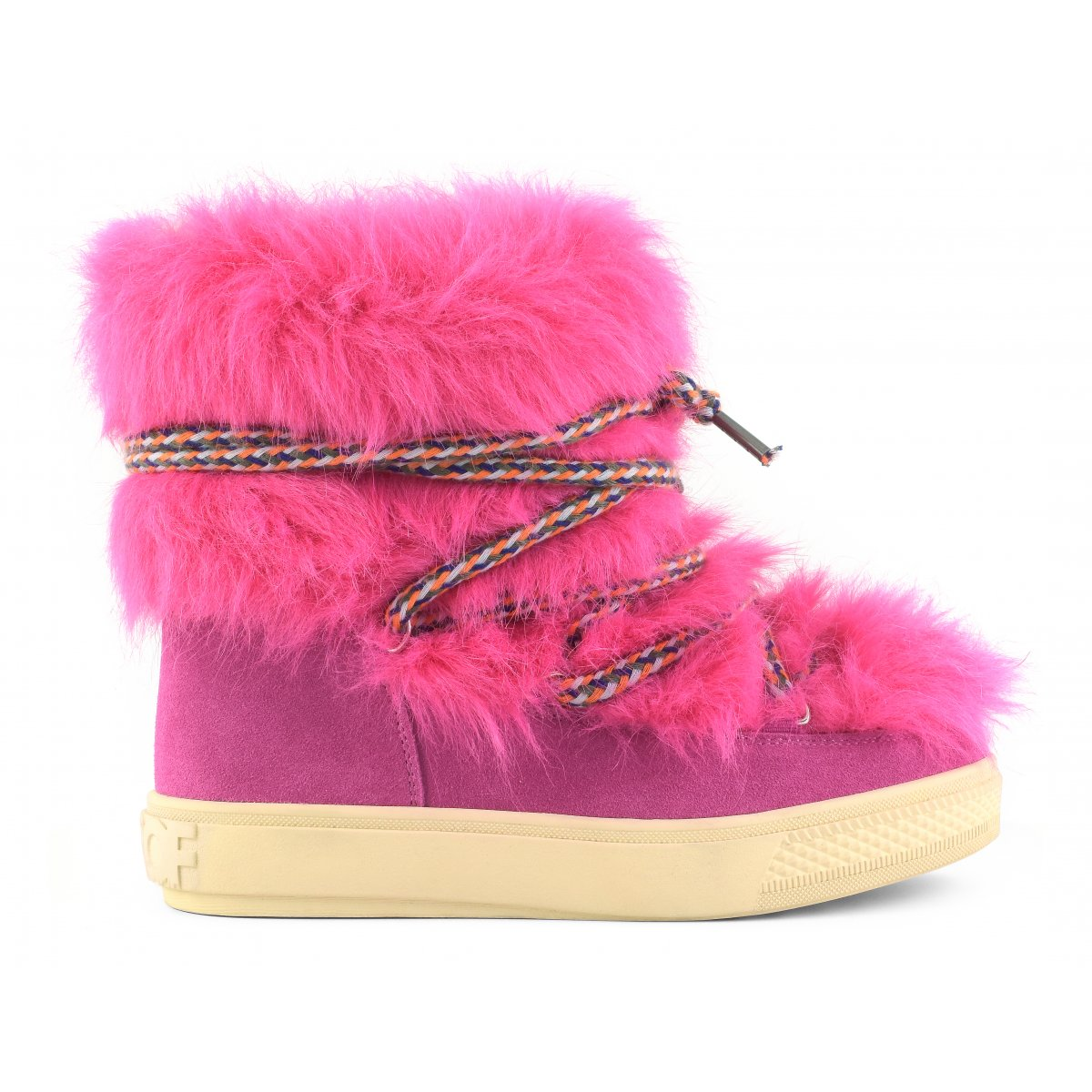 Snow boots in faux fur and suede Snowboots & ugg boots