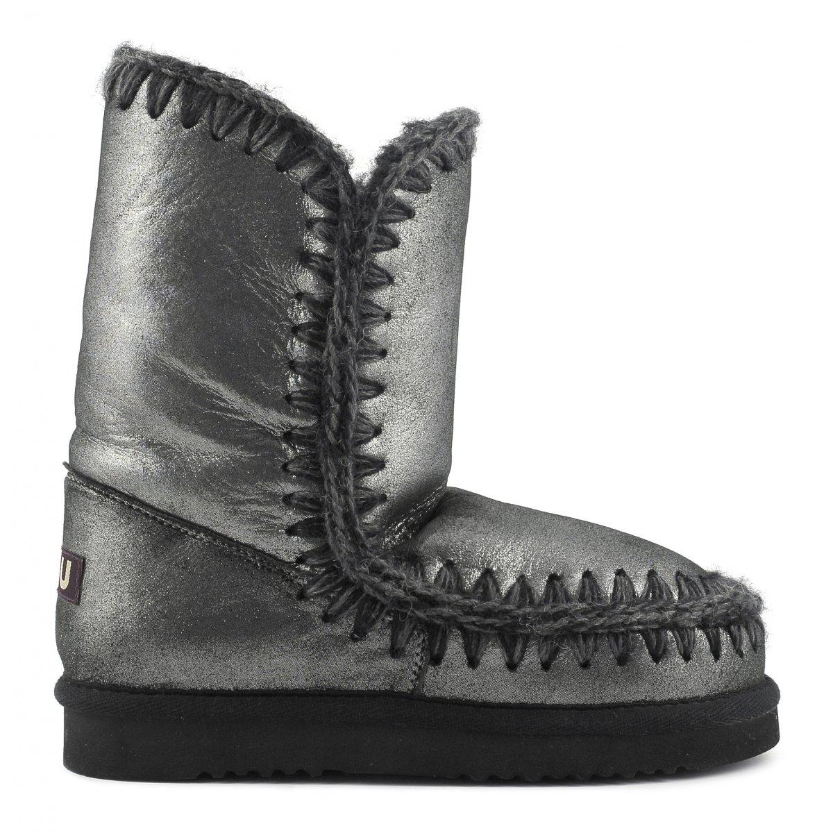 metallic Int Eskimo boots - Black Mou Perfect VLH7J