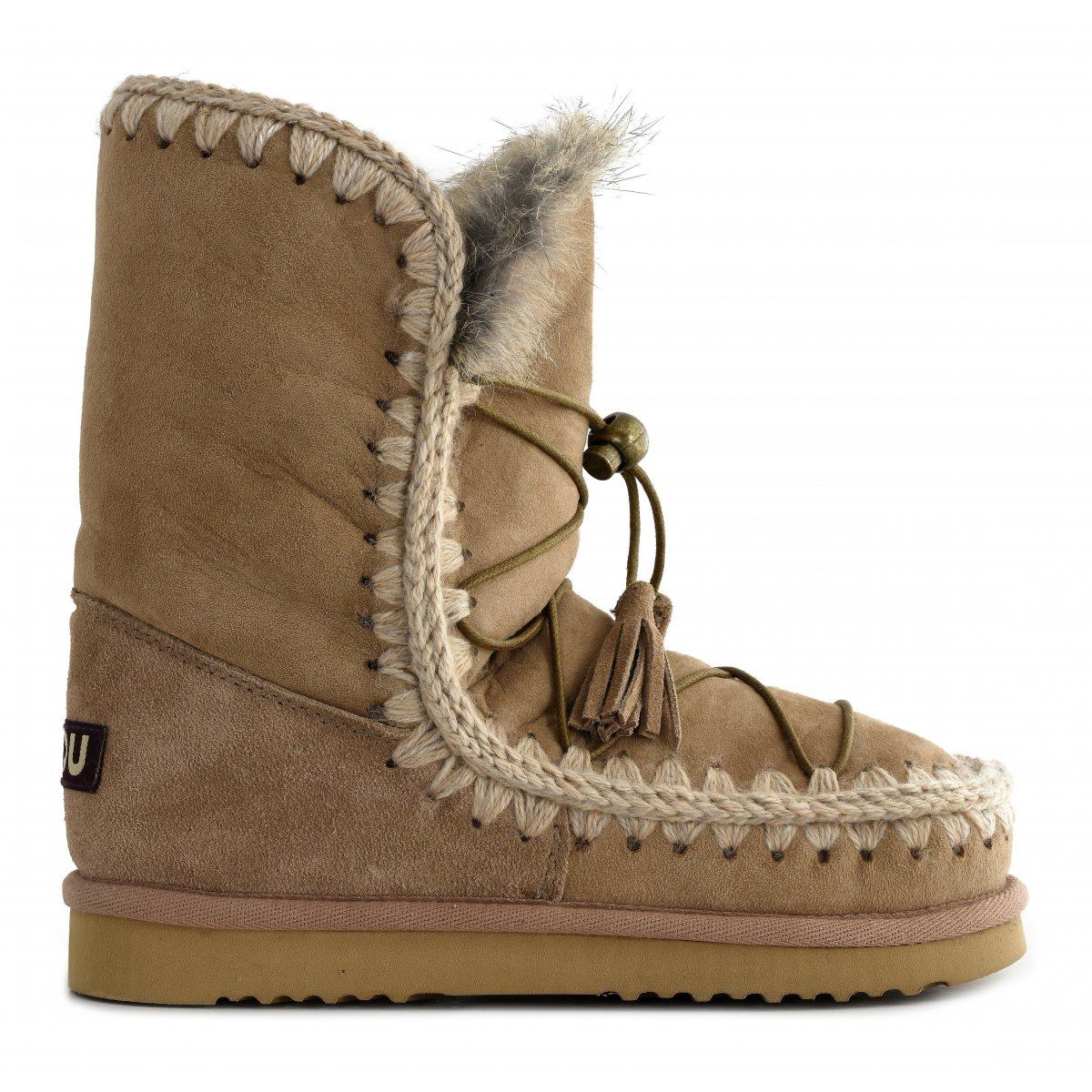 perforated Eskimo boots - Black Mou 3d0gtpVnlh
