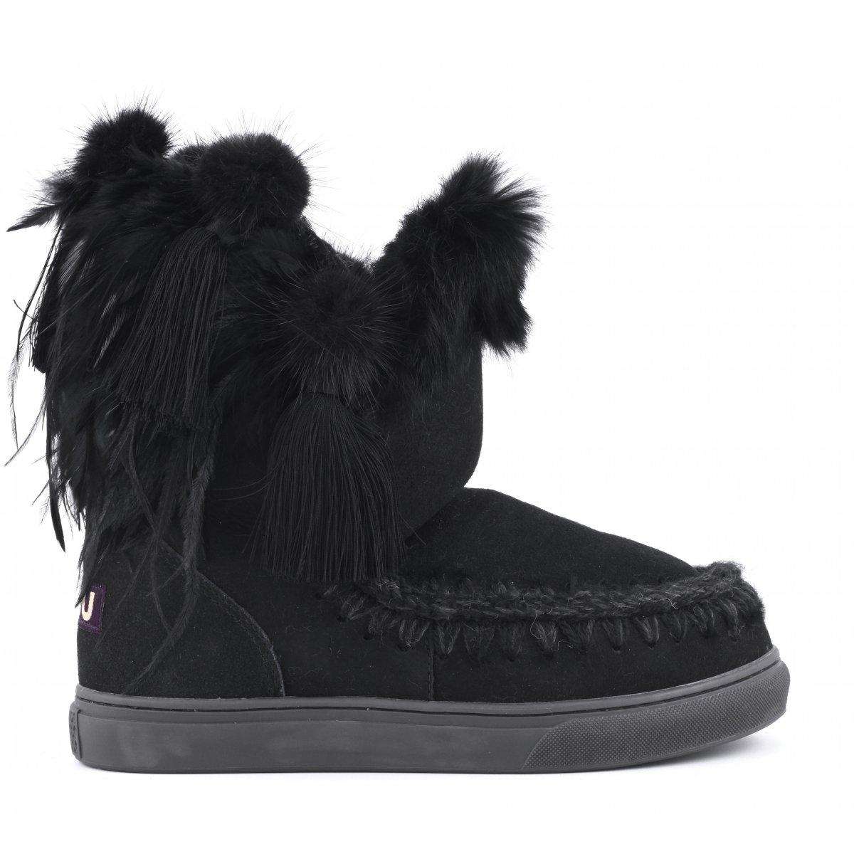 a9b4d82d4fd6 Fall Mou Feathers Back Winter Women Sneakers Sneaker Eskimo ZqIHYz