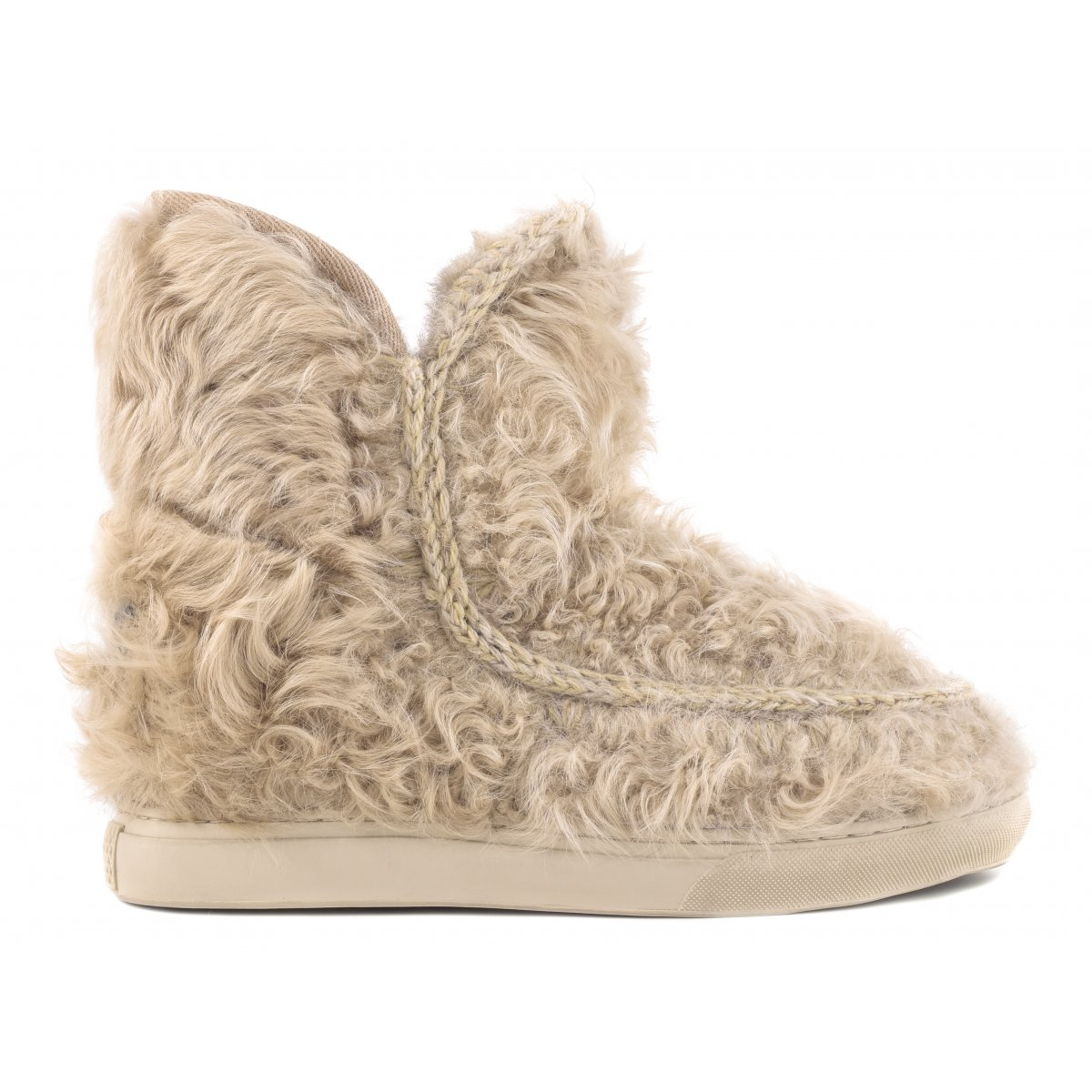 Inner Wedge Sneaker All Fur in Cam