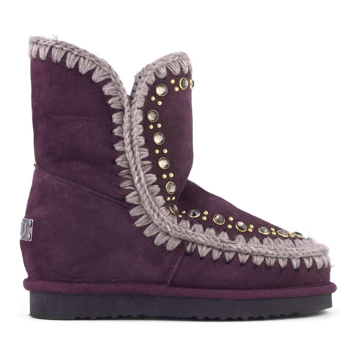 INNER WEDGE WITH STUDS & CRYSTALS
