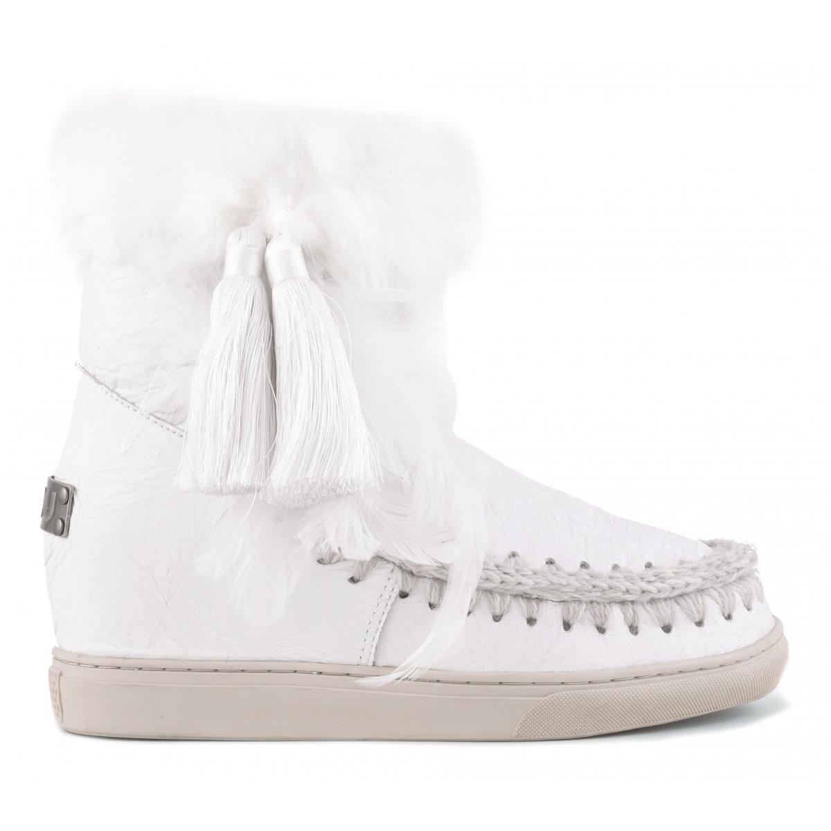 5d20703525 inner wedge sneaker side pom - inner wedge mou women fall winter