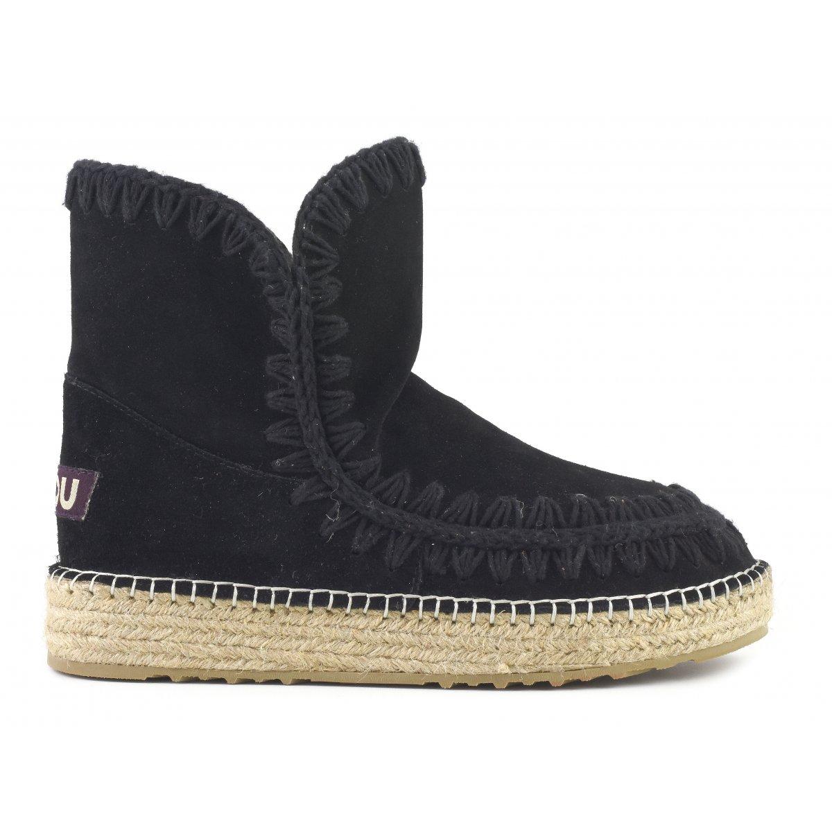 6100f9ea3f1 eskimo 18 jute suede - ankle boots mou women spring summer