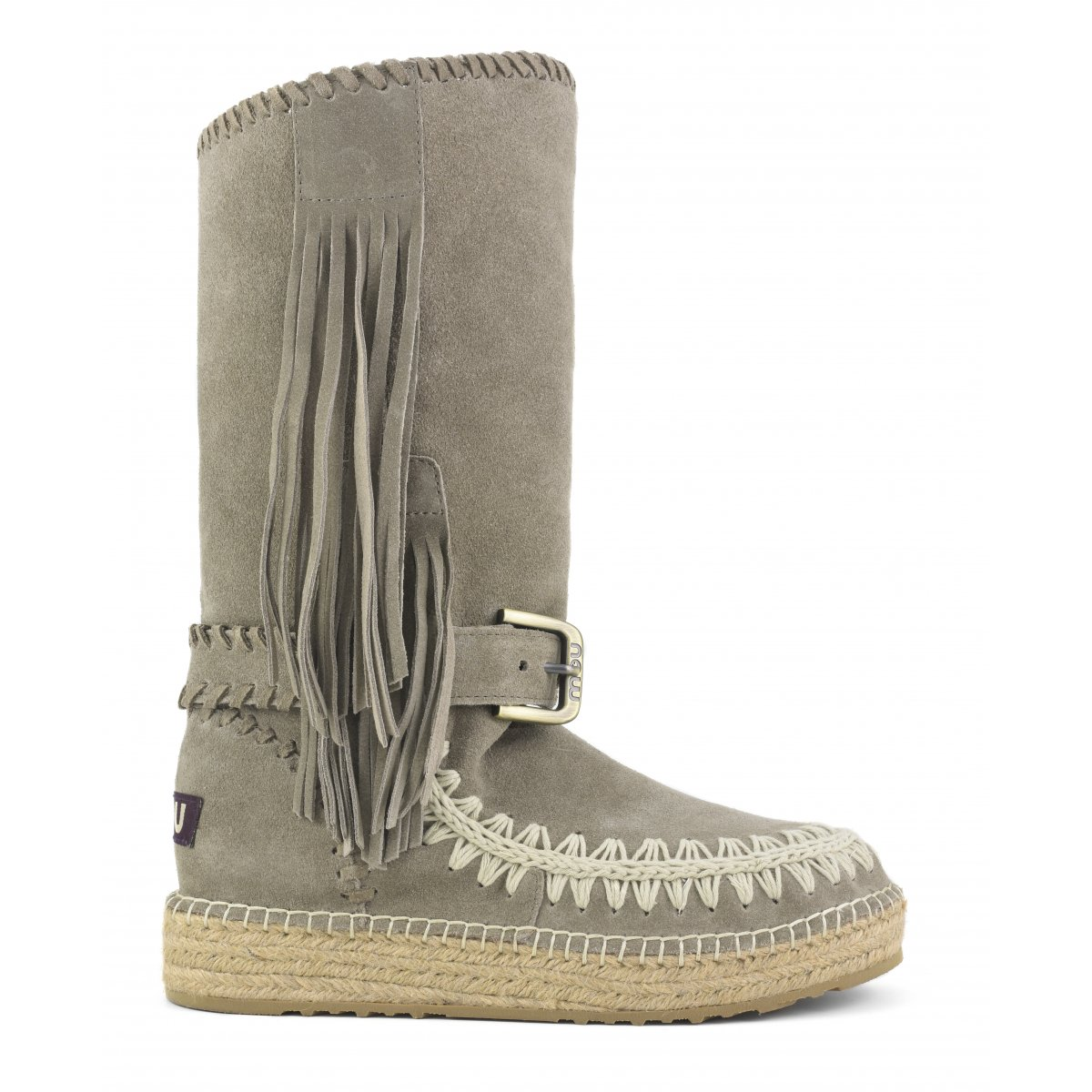 Indian Boot Jute Suede in Cor from mou