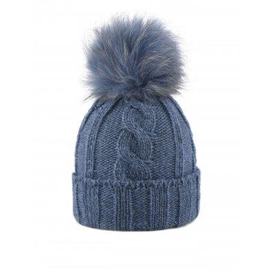 Cappello pom pelliccia murmasky