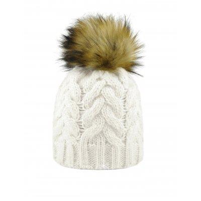 Cappello pom pelliccia sintetica