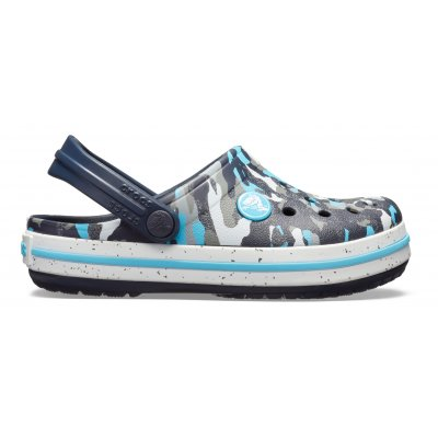 Kids' Crocband™ Camo Speck Clog