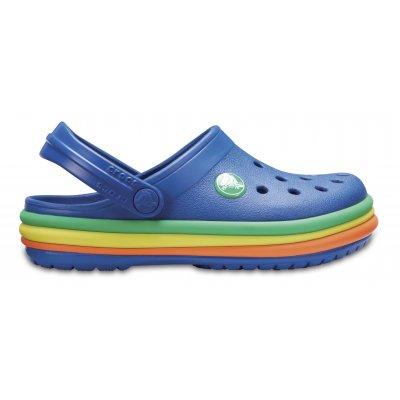 Crocband™ Rainbow Band Clog K
