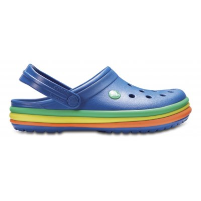 Crocband™ Rainbow Band Clog