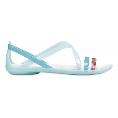 Isabella Cut Graphic Strap Sandal W