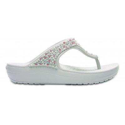 Crocs Sloane Embellished Flip Women