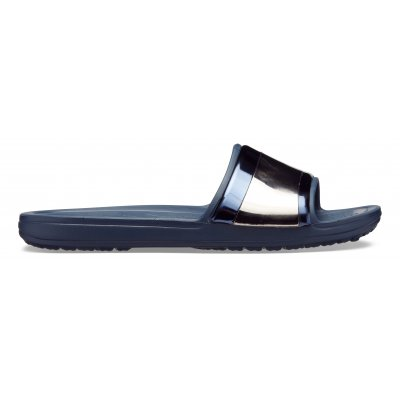Crocs Sloane Metal Block Slide W