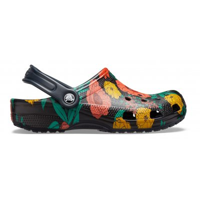 Classic Printed Floral Clog W