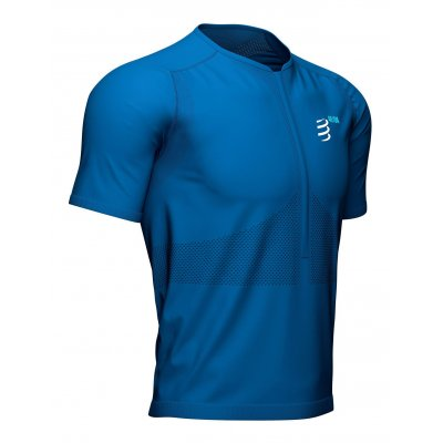 Trail Half-Zip Fitted SS Top -