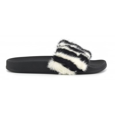 Eva slipper with fur upper28