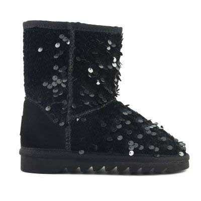 Ugg Boot mid in velvet sequins