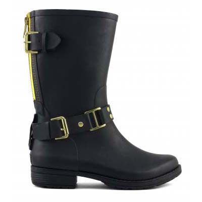 Camperos Rubber Boot with colo