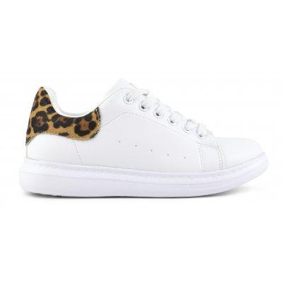 Sneaker rubber high sole in le