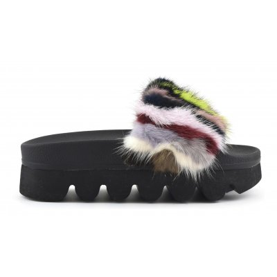 Real Fur Slippers