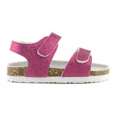 Bio glitter sandal with strap