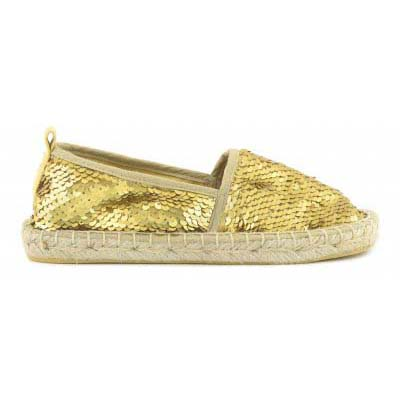 Basic Espadrille in sequins