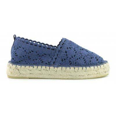 Espadrille double sole in macr
