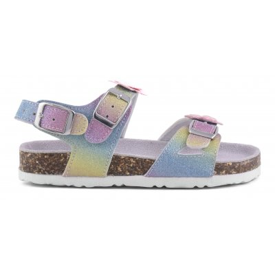 Bio Glitter Sandal Ankle Closed