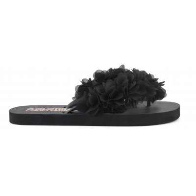Flip flops con accessorio floreale