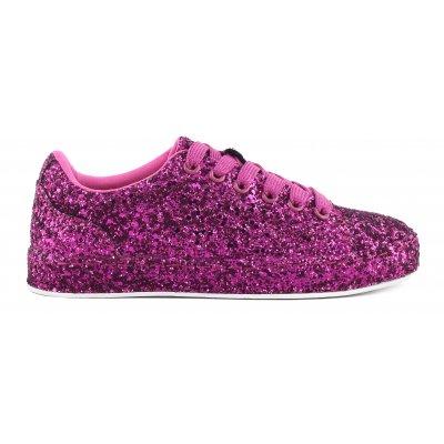 Sneakers in glitter