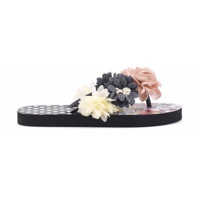 Eva Flip Flop With Flowers