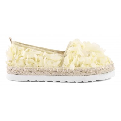 Espadrilles in floreal fabric