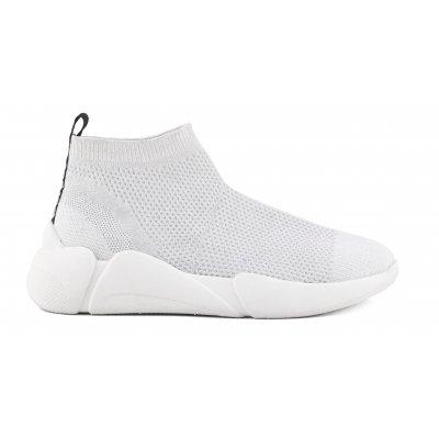 Sneakers in maglia con suola running