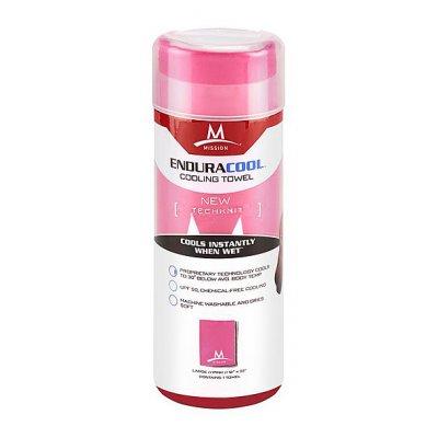 Endurac Tech Knit Towel L Pink