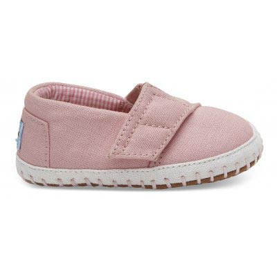 Pink Canvas Alpargatas Crib Tiny