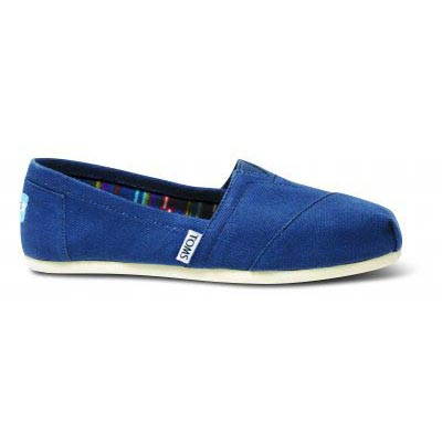 Navy Canvas Women Classic Alpargata