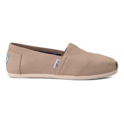 Light Grey Canvas Alpargata Women