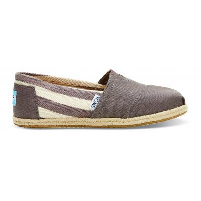 University Grey Stripe Women Classic