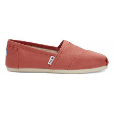 Coral Canvas Alpargata Women